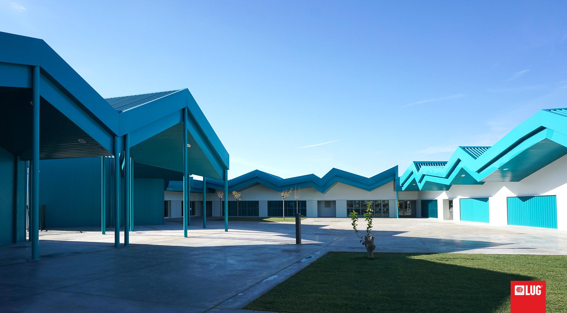 Colegio de Cuarte de Huerva, Zaragoza, Spain - LUG