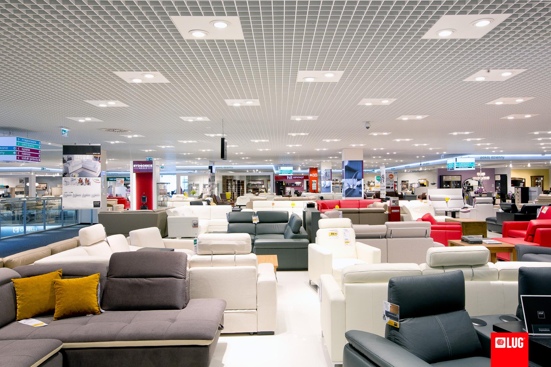 Salone di mobili agata meble cracovia polonia lug for Mobili per salone