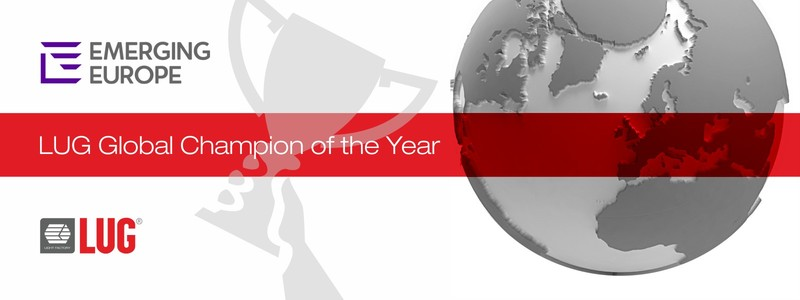 LUG named Emerging Europe's Global Champion of the Year