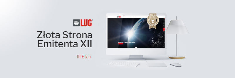 LUG S.A. in the final stage of the XII edition of Golden Website Contest